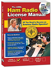 ARRL Technicial License Study Manual cover image