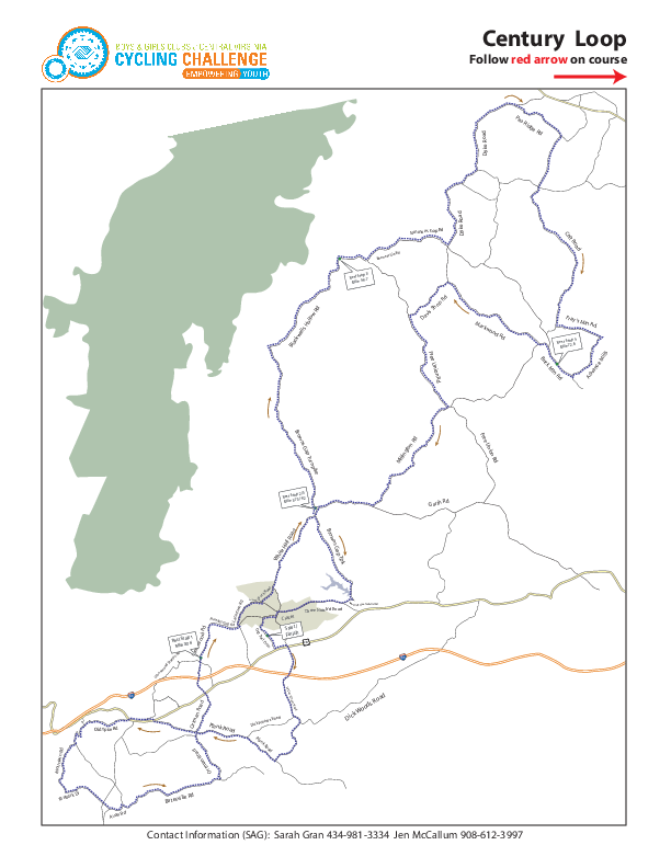 PNG preview of PDF map of bike route