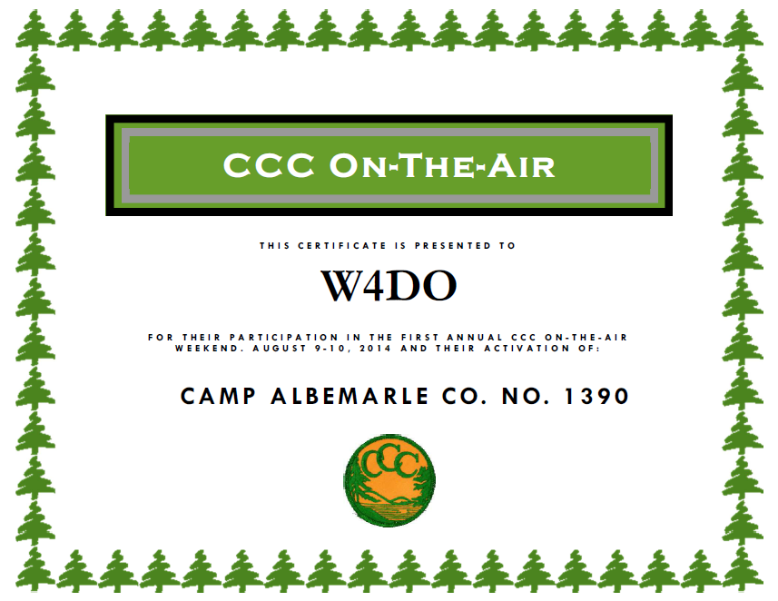 CCCOTA certificate