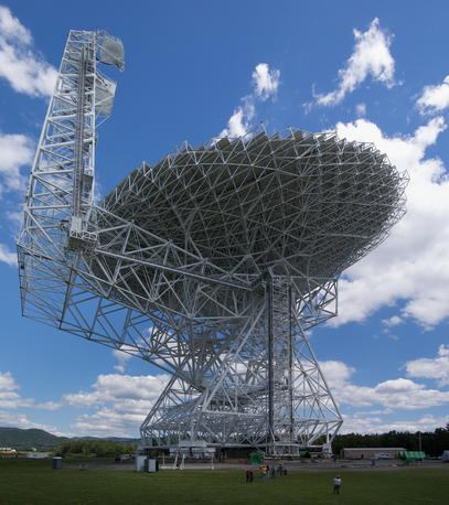 Picture of Green Bank Telescope (GBT)