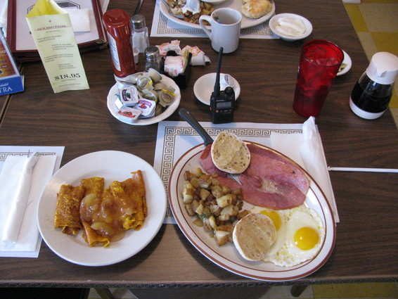 Image of breakfast plate at  Sam's Kitchen Restaurant