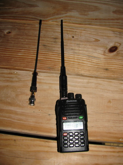 Radio/Adaptor/antenna, see text