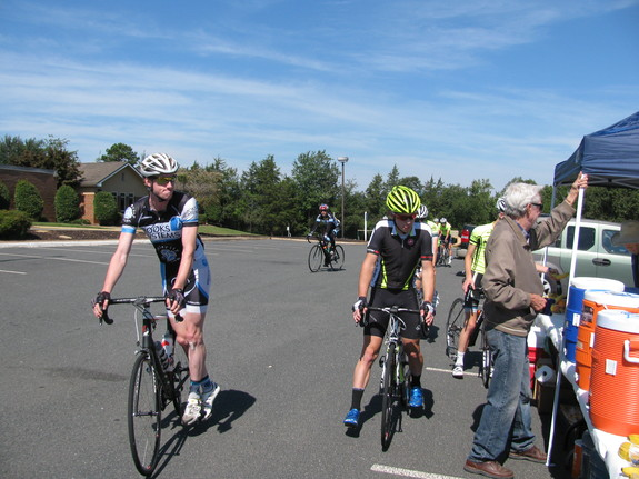 Image of cyclists at BGCCC 2013