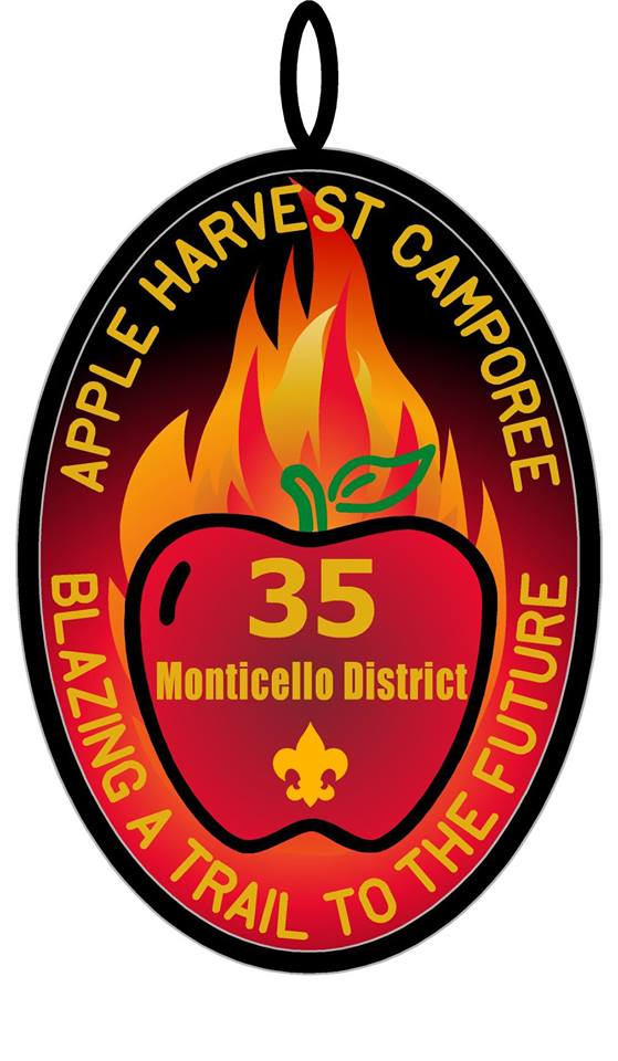 Apple harvest camporee logo