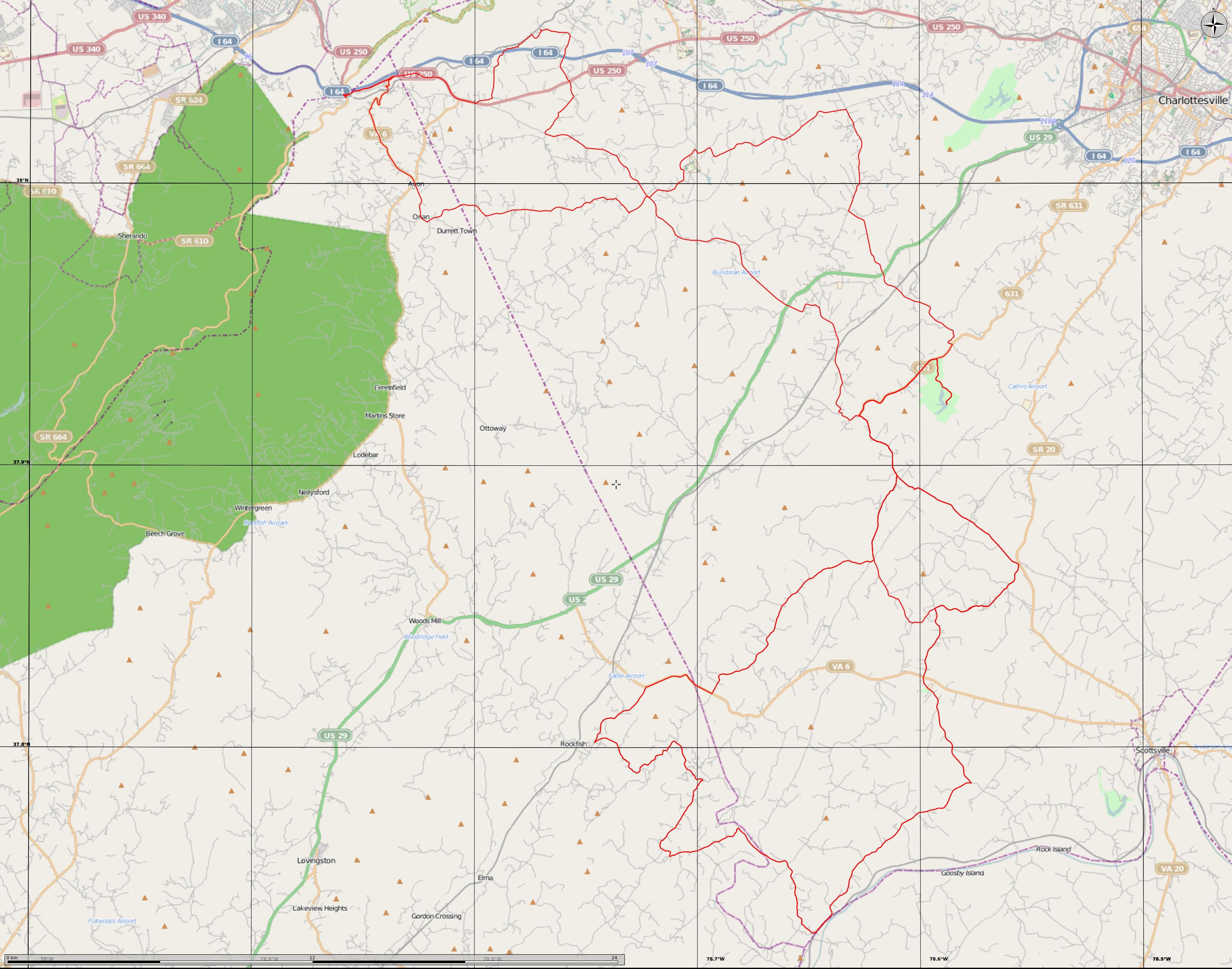 Gran Fondo Virginia 2013 Combine Route Map