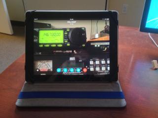 My iPad Running Skype