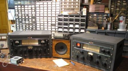Collins transmitter and receiver restored by KX4P